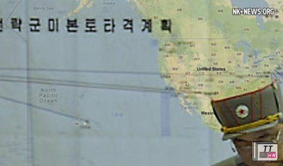 Bản kế hoạch chỉ rõ các mục tiêu trọng yếu đầu tiên ở Mỹ mà Triều Tiên nhắm vào để tấn công trước trong trường hợp khai chiến với đối thủ.