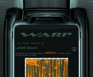 WARP Blogger Template