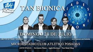 TAN BIONICA EN POSADAS!!! DOMINGO 28 DE JULIO 2013