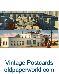 Ephemera & Vintage Postcards