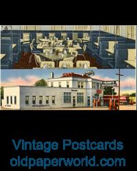 Ephemera & Vintage Postcards