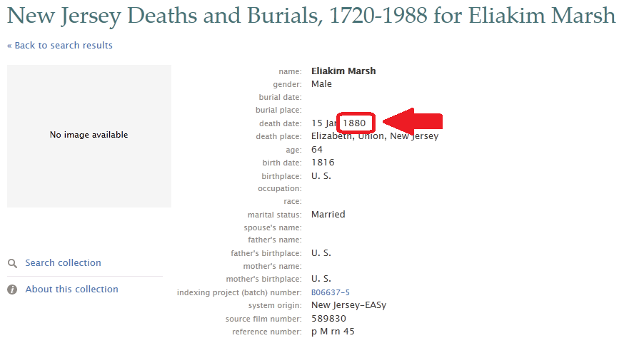 Family History Research by Jody Lutter: New Jersey Death Index at ...