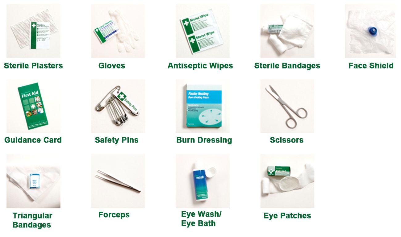 Basic first aid kit list of items 9minecraft