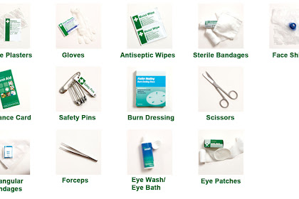 First Aid Box Items List With Pictures