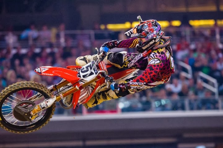 Texas Rider News | Honda Motorcycle Supercross Arlington Texas | 2014 Blog