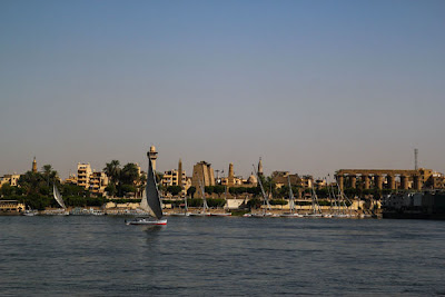 Rio Nilo, Luxor - Viaje a Egipto