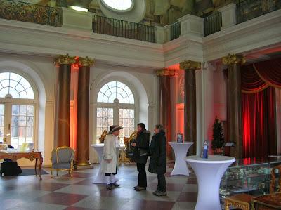 Hall del Castillo de Charlottenburgo, Berlin, Alemania, round the world, La vuelta al mundo de Asun y Ricardo, mundoporlibre.com