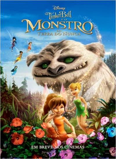 Download Tinker Bell e o Monstro da Terra do Nunca AVI BRRip + Legenda + RMVB Legendado Torrent