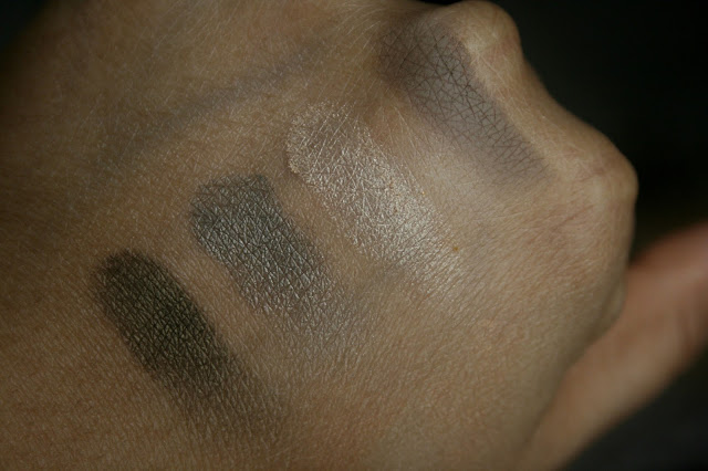 Becca Ultimate Eye Colour Quad in Eclipsed Swatches