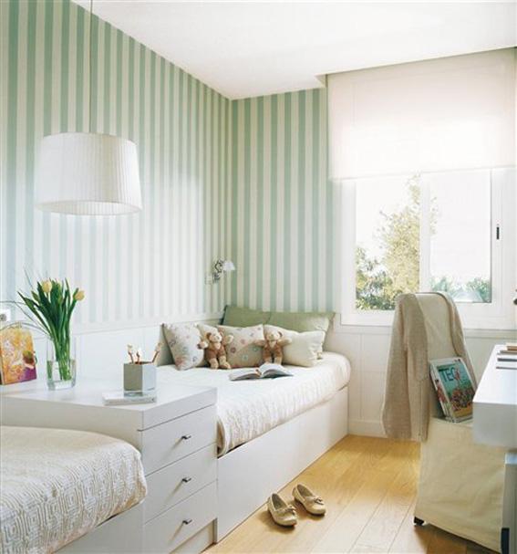 Papeles pintados en los dormitorios infantiles ahora - El mueble dormitorio juvenil ...