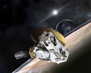 Posición actual sonda New Horizons
