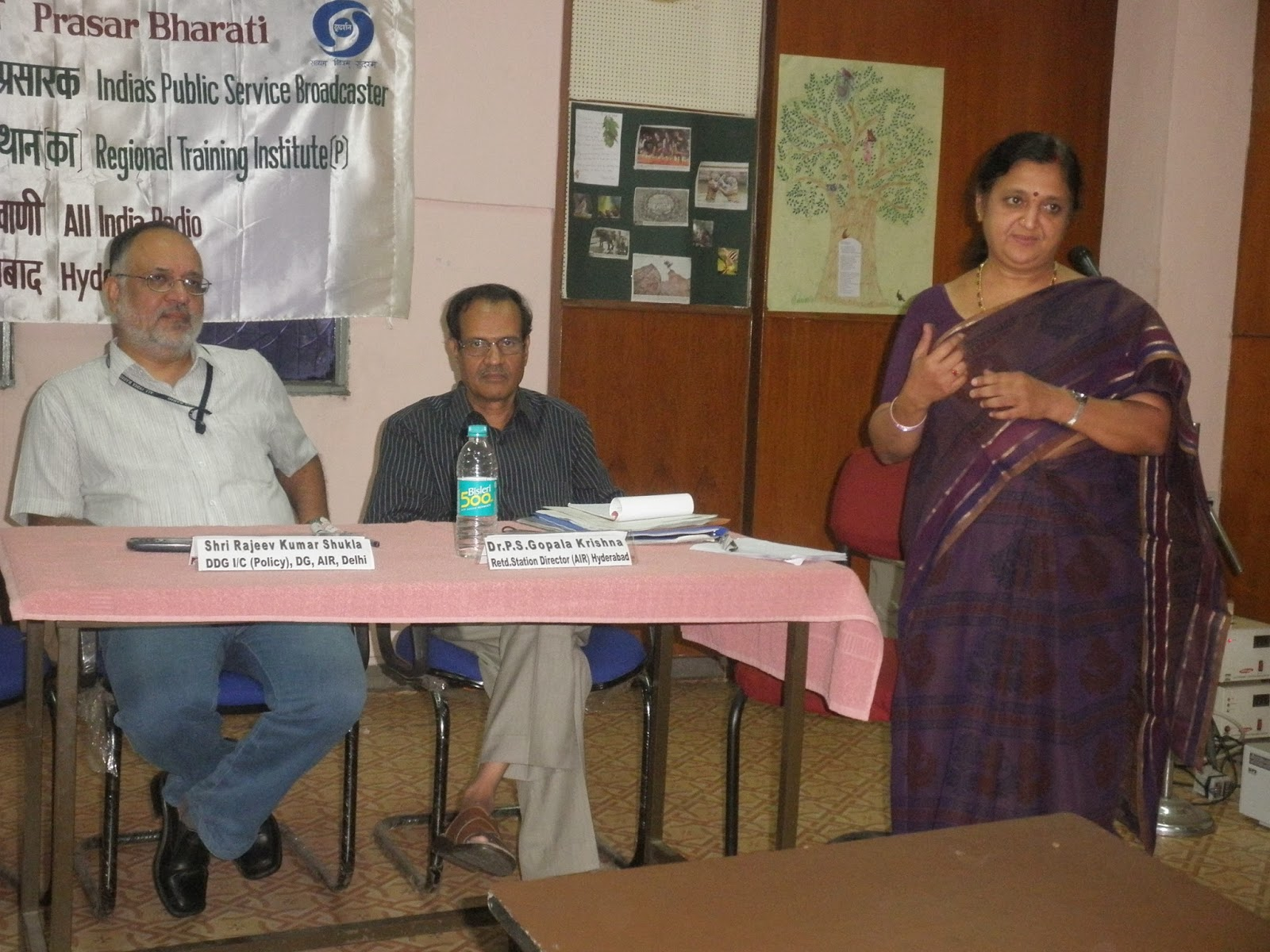 Election Broadcast training held at RTI(P), Hyderabad