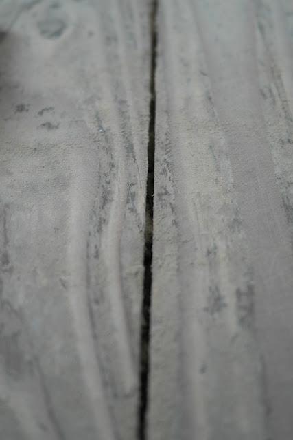 Holzboden nach dem anschleifen.