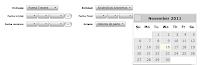 Ejemplo de calendario insertado en formulario