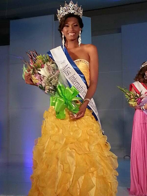 Miss Panama International 2013 winner Betzy Madrid
