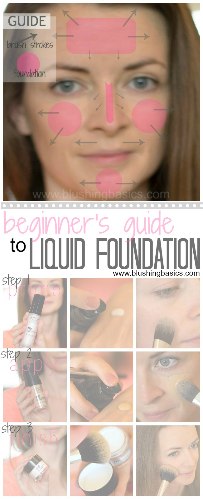 Beginner's Guide - How to Apply Liquid Foundation