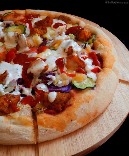 Najlepsza Domowa Pizza Kebab - Przepis - Słodka Strona