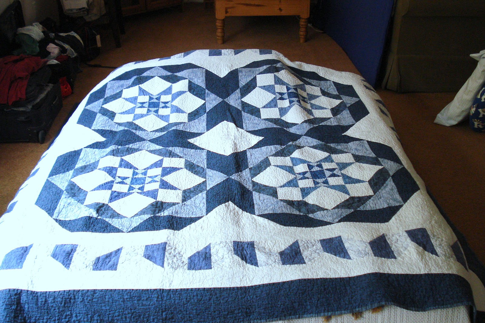 how to decide on size for border for a quilt
