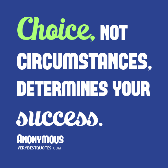 Make Good Choices For Your Future