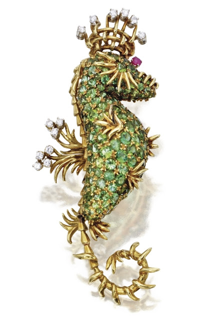 sea horse luxury jewelry