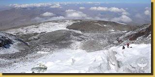 glacial del monte ararat