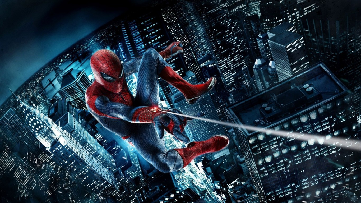 Spider diving Wallpapers HDWallpapers