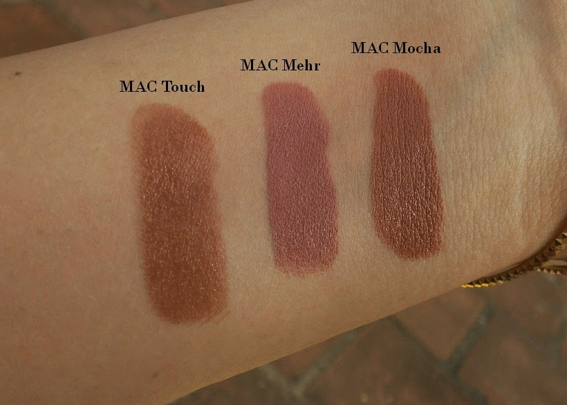 Swatches of my favorite Nude and Neutral Office Wear Lipsticks