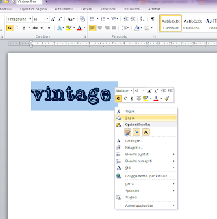 tutorial come ruotare scritta in word