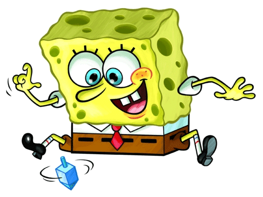 bob esponja jugando