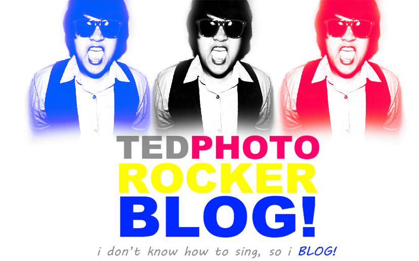 Ted - i don't know how to sing, so i BLOG :)