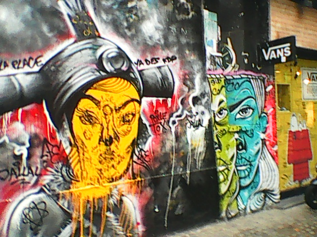 GRAFITY IN PARIS-THE ART OF UNFULFILED IMMORTALITY