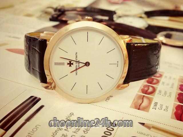 Đồng hồ nam dây da giá rẻ dưới 500 nghìn