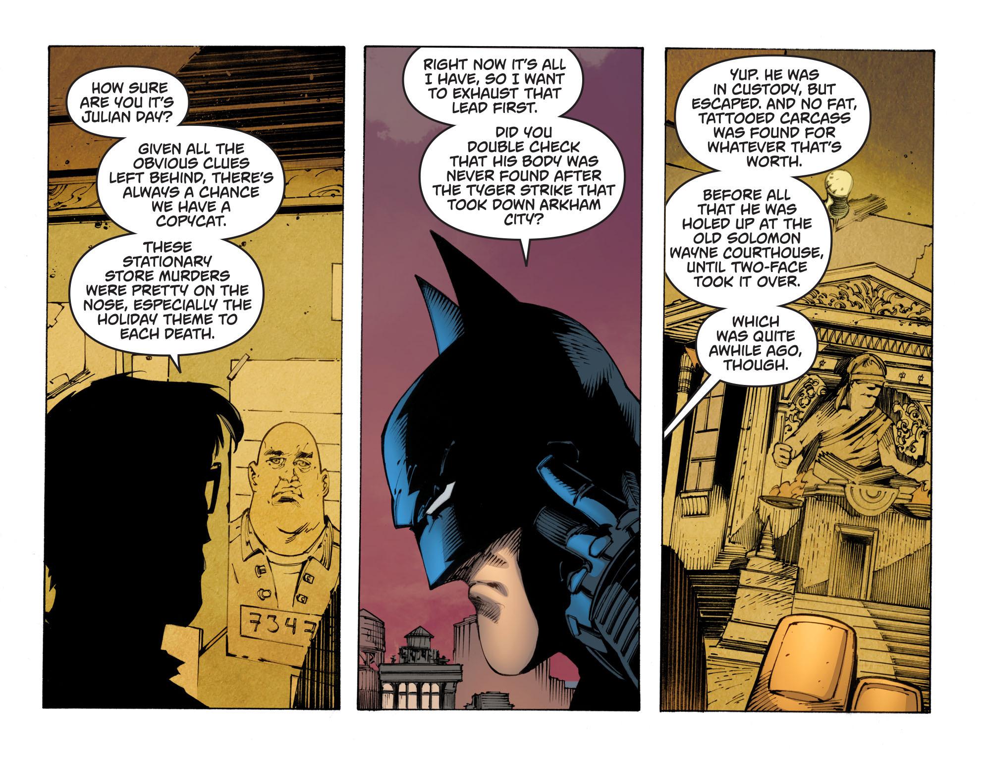 Batman: Arkham Knight [I] Issue #29 #31 - English 12