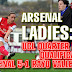 Women's Champions League: Arsenal 5-1 Rayo Vallecano