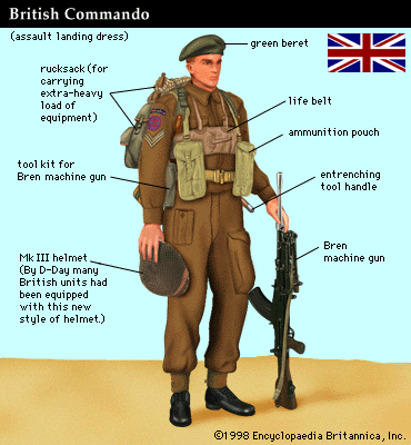 commando Kieffer BRITISH+COMMANDO