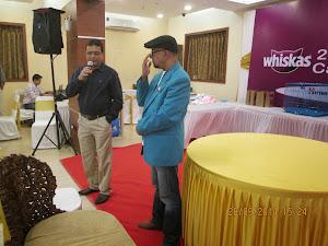"Dr Ashish.M.Paturkar (Left)and Mr Shree .Nair.Will India produce the ""BILLY"" breed ?."