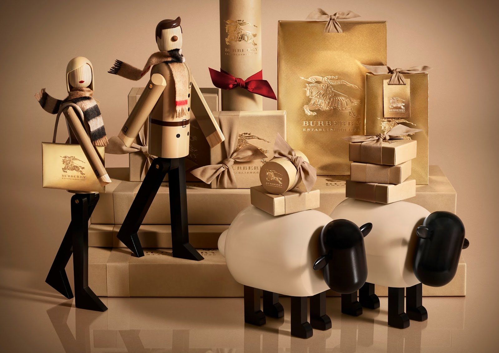 Burberry's Chinese New Year Collection