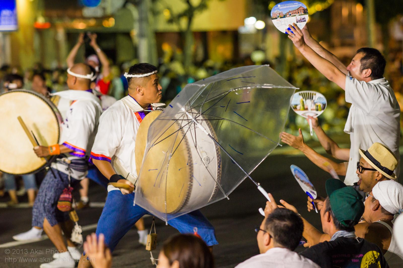 高円寺阿波踊り 小六の鳴り物