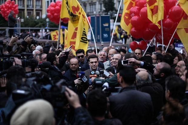 Ένα μπράβο στον ΣΥΡΙΖΑ για την απεργία
