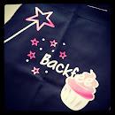 Cupcaki Backfee Schürze