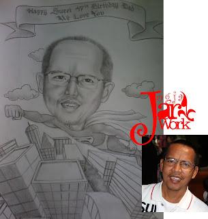 Jasa Karikatur, Karikatur Manual, Karikatur Handmade, Lukis Wajah, Bikin Karikatur, Order Karikatur