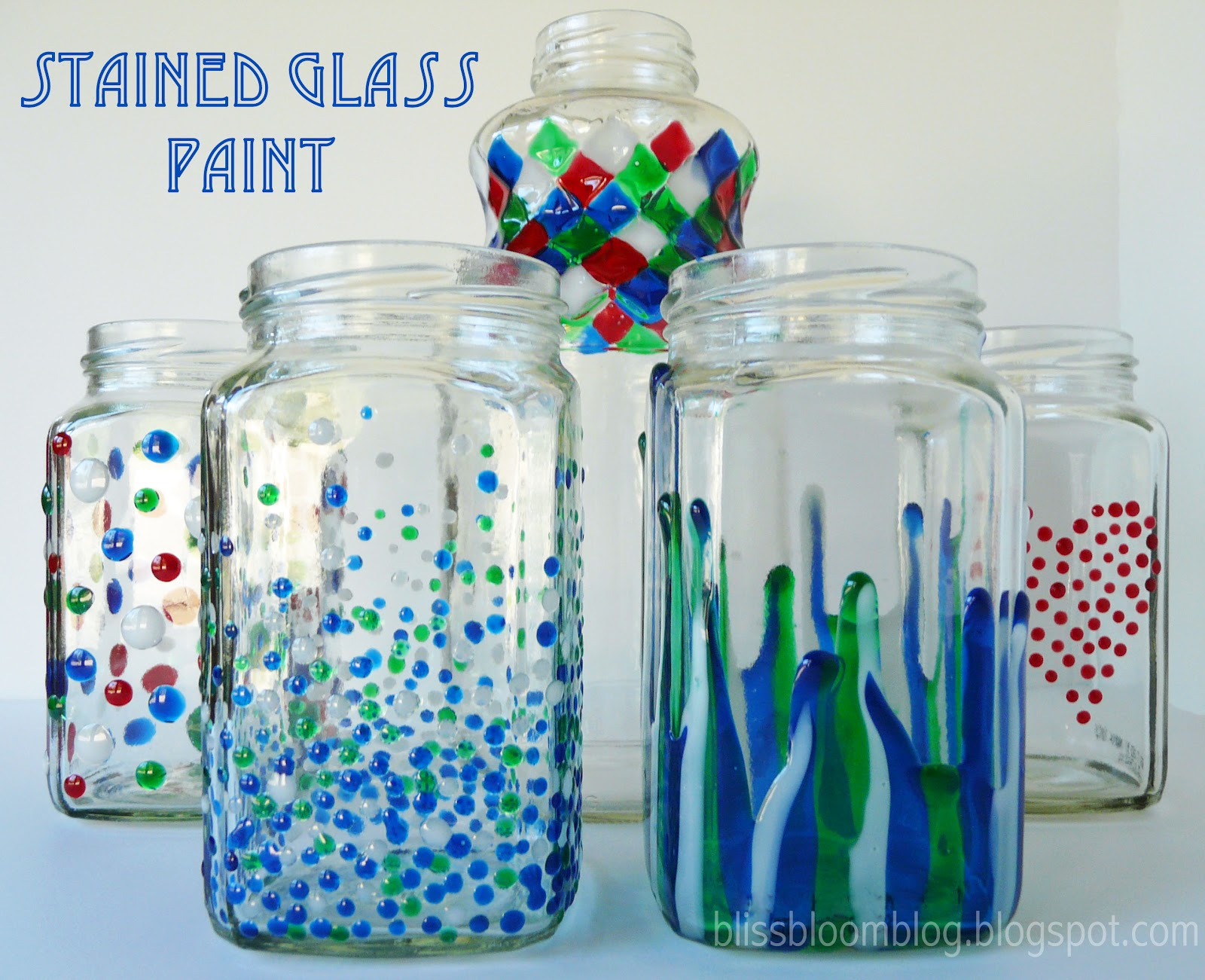 make painted stained glass