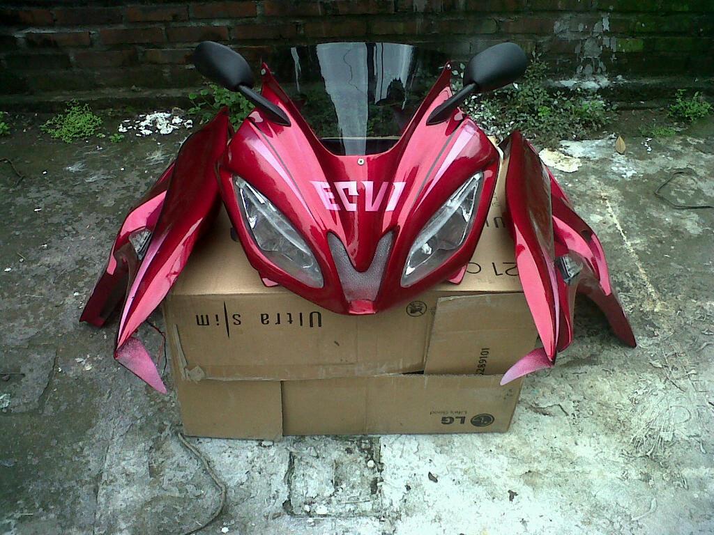 Modif Yamaha Vixion Menjadi R6