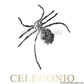 Queen Maxima Style Juweliers CELEDOINO brooche