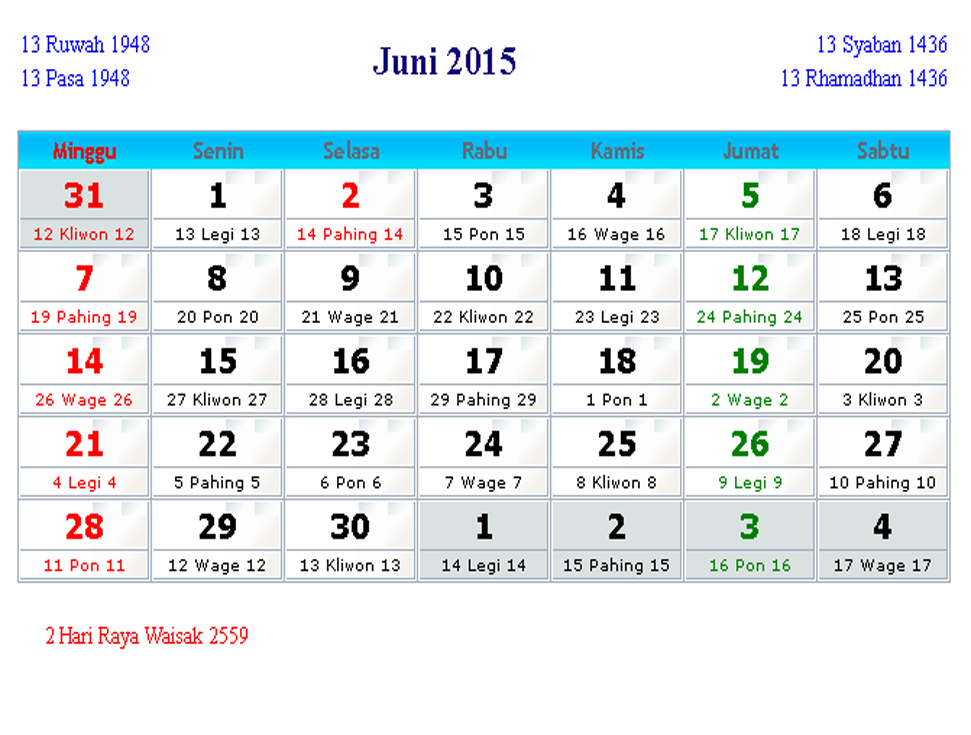Bahasa Indonesia Kalender 2016 | Search Results | Calendar 2015