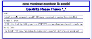 Cara Membuat Backlink Please Di Bawah Postingan Blog