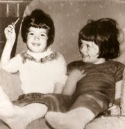 Mary and Terri as kids