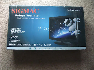 32 inch, sigmac, LCD, 1080p, TV, microcenter, free shipping