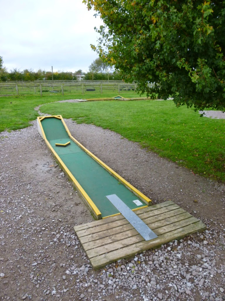 Crazy Golf course at Mead Open Farm