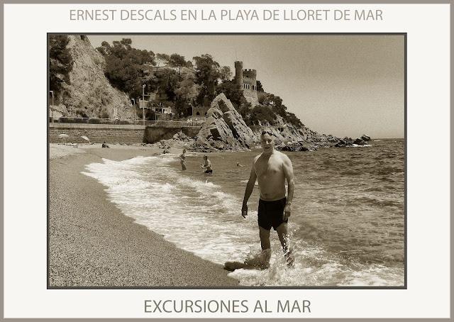 LLORET DE MAR-EXCURSIONES-PLAYA-DESCANSAR-SALUD-RELAX-FOTOS-PINTOR-ERNEST DESCALS-